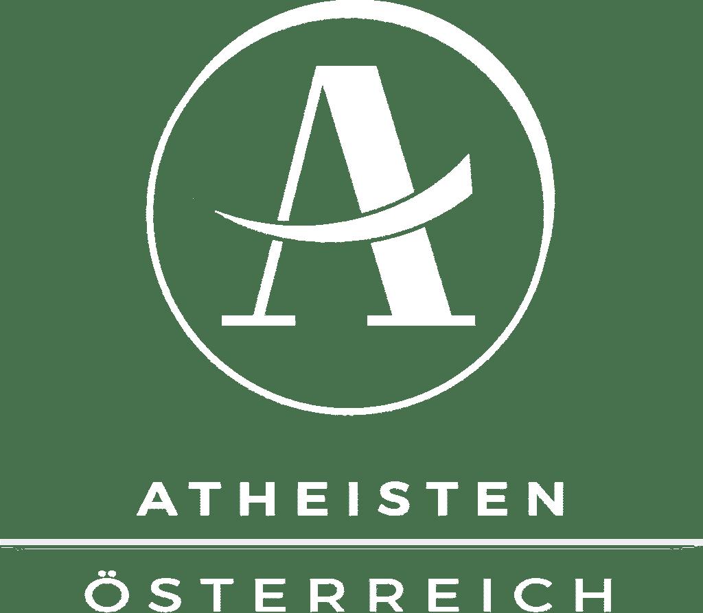 Atheisten Österreich Logo Weiss