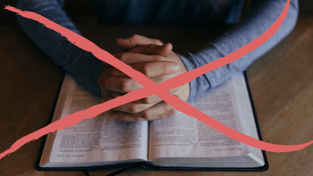 Kein Religionsunterricht